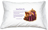 Prayer Pillowcase - St. Padre Pio - ABCatholic