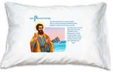 Prayer Pillowcase - St. Peter - ABCatholic