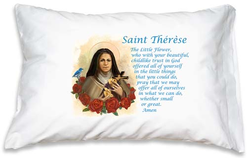 Prayer Pillowcase - St. Therese