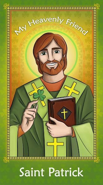 Prayer Card - St. Patrick - ABCatholic