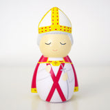 "Saint Pope John Paul II ""the Great"" Shining Light Doll - ABCatholic"