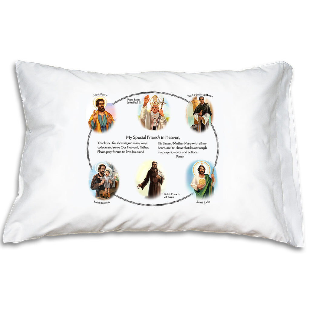 Prayer Pillowcase - Circle of Friends: Blessed Brothers