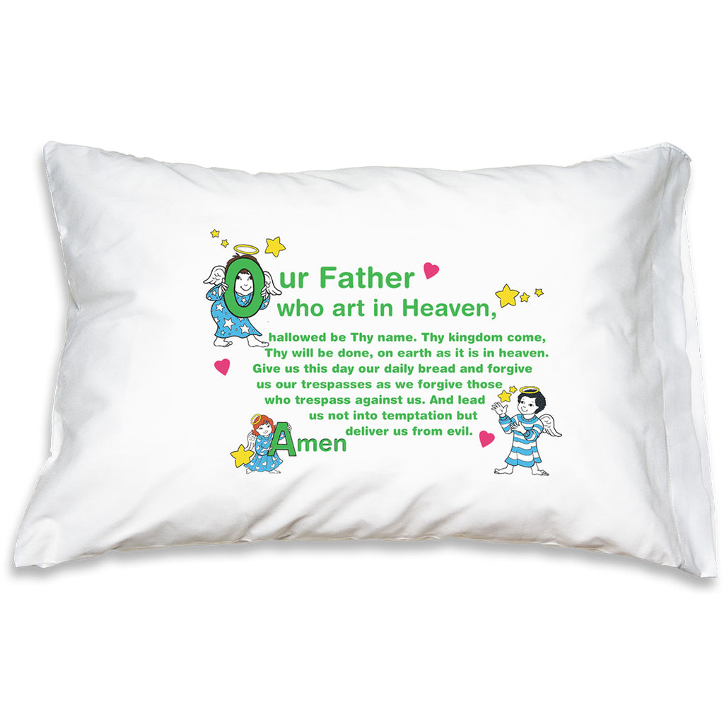 Prayer Pillowcase - Little Angels: Our Father