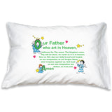 Prayer Pillowcase - Little Angels: Our Father - ABCatholic