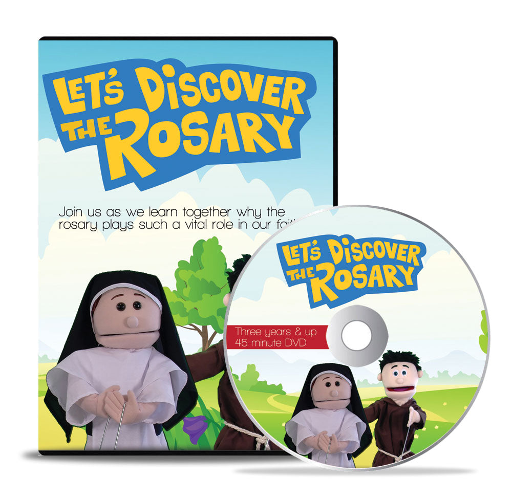 *Let's Discover The Rosary* (DVD)