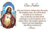 Prayer Pillowcase - The Sacred Heart: Our Father - ABCatholic