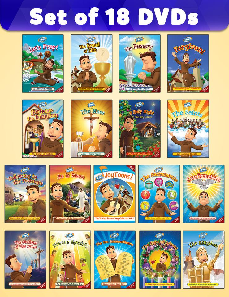 *Brother Francis DVD - 18 Pack*