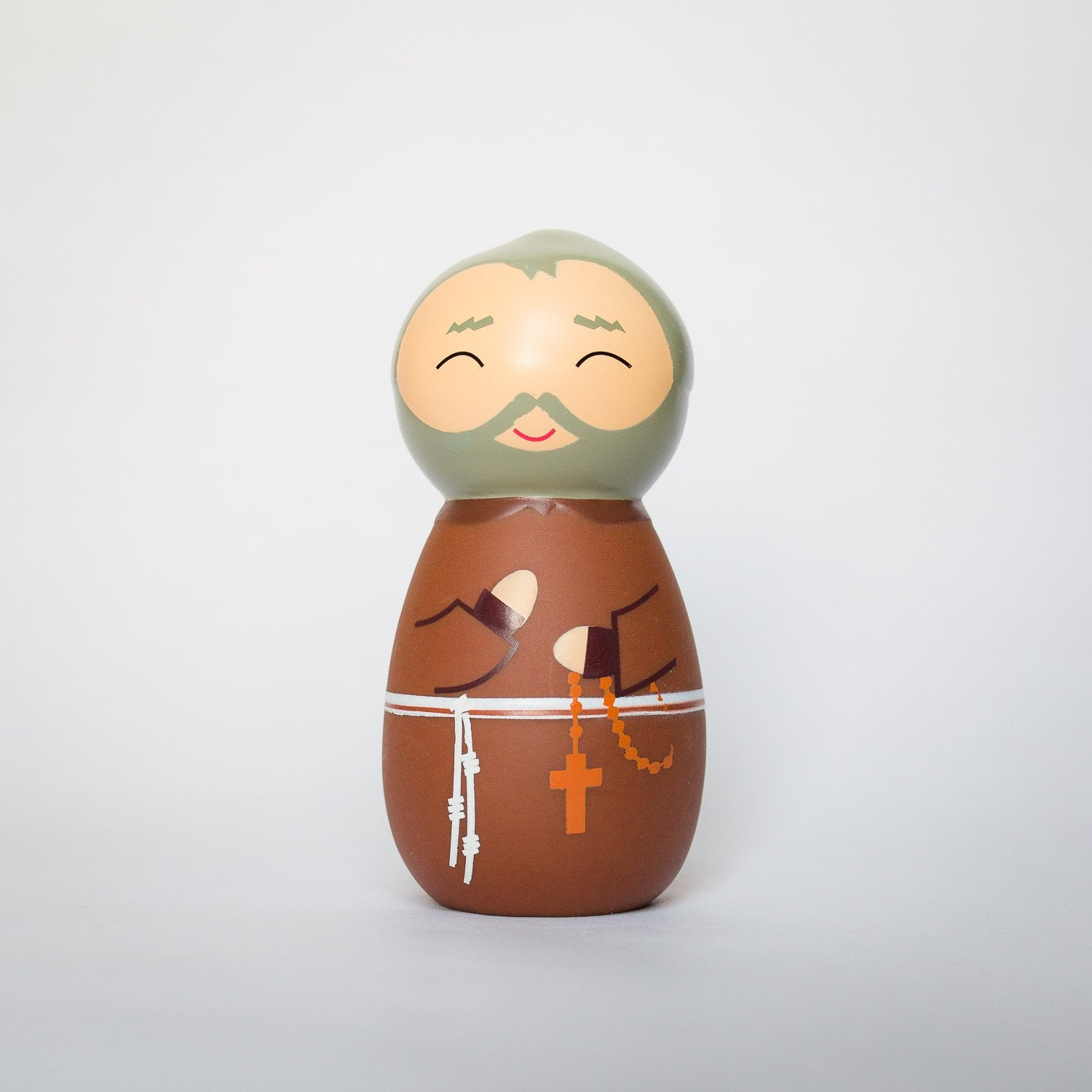 Saint Padre Pio Shining Light Doll - ABCatholic