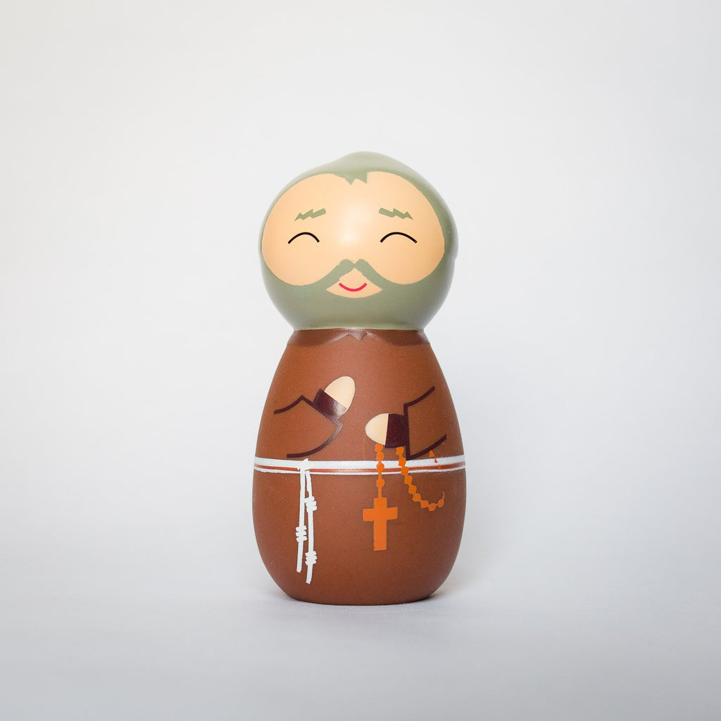Saint Padre Pio Shining Light Doll