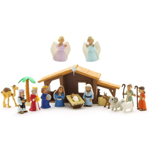 Nativity Playset - ABCatholic