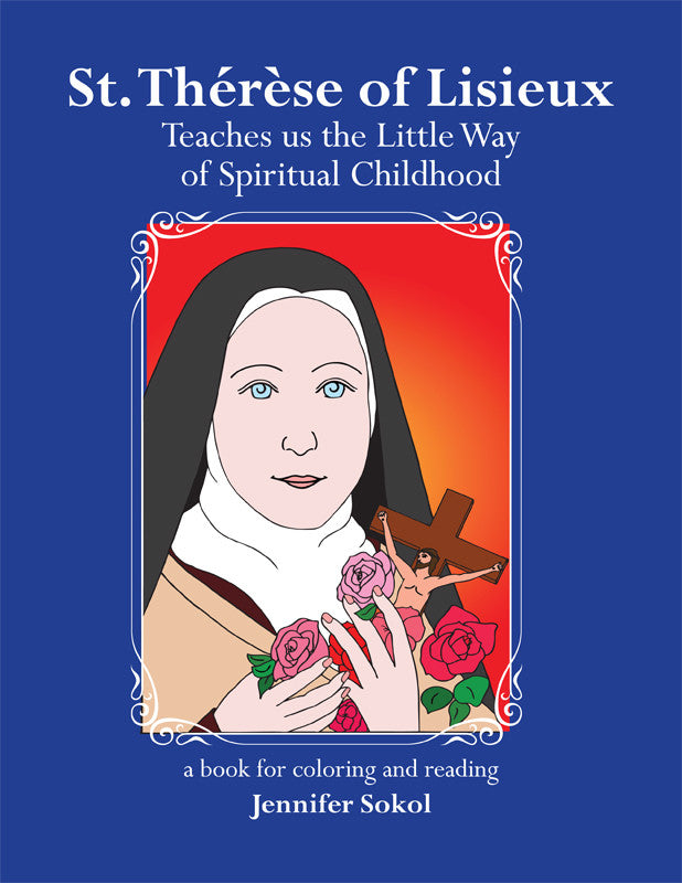 St. Therese of Lisieux Coloring Book - ABCatholic