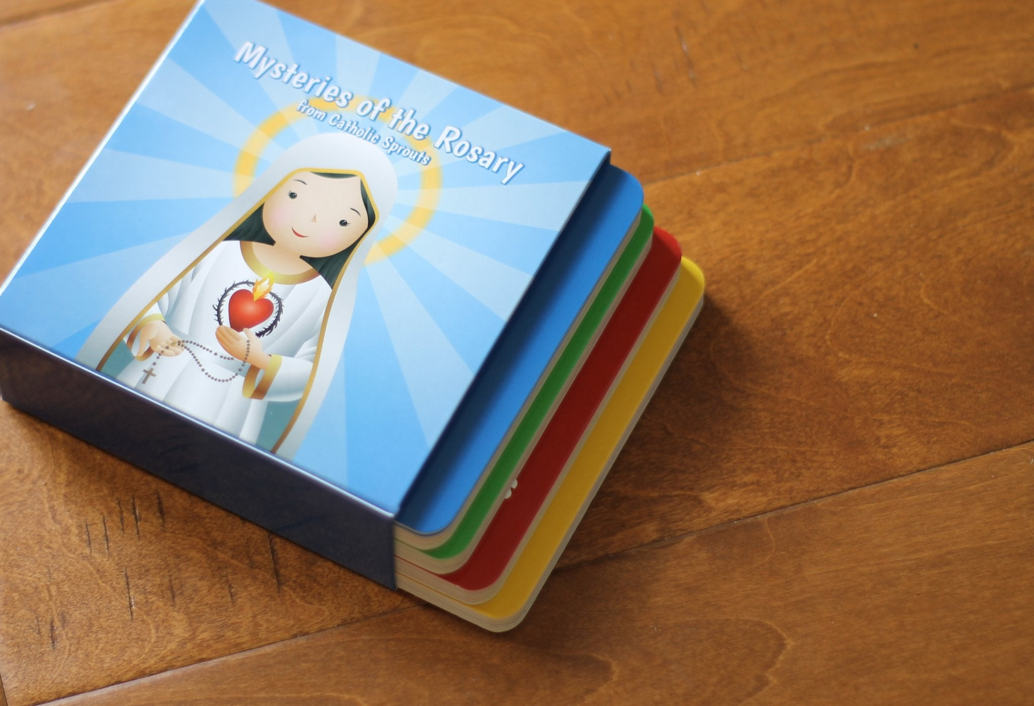 Mysteries of the Rosary Board Book Set - ABCatholic