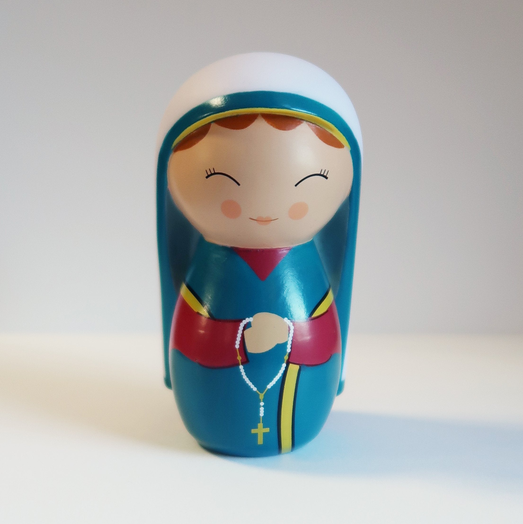 Saint Bernadette Soubirous Shining Light Doll - ABCatholic