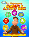 Brother Francis Coloring Book - Episode 12: The Sacraments - ABCatholic