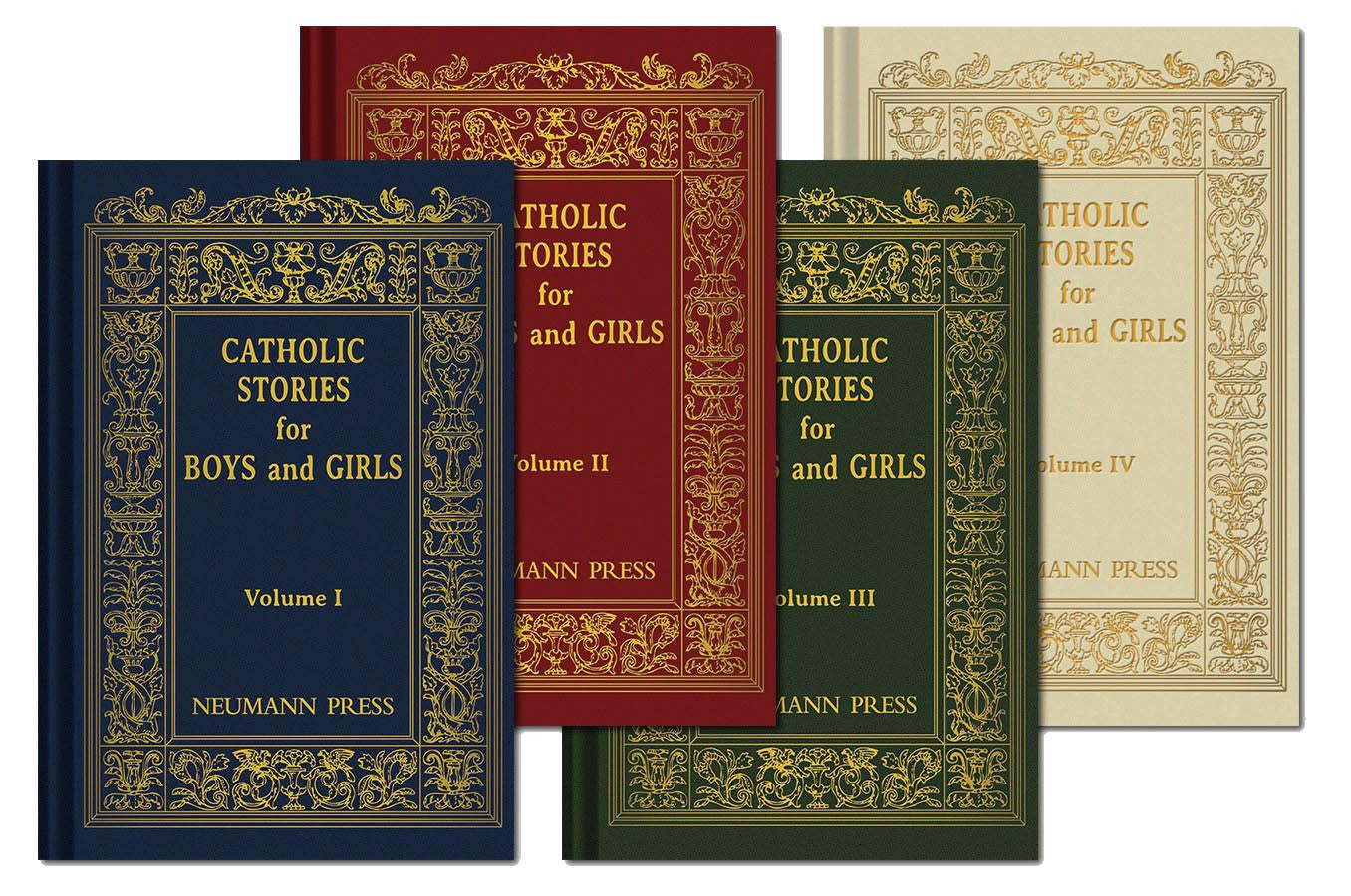 Catholic Stories for Boys and Girls (Set of 4) at ABCatholic - ABCatholic