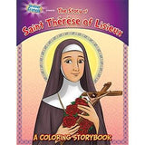Coloring Book: St. Therese of Lisieux