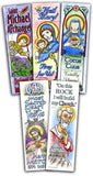 Catholic Coloring Bookmarks - ABCatholic