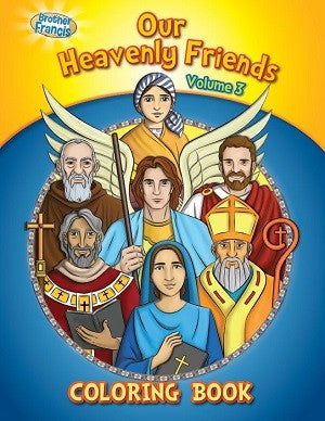 Coloring Book: Our Heavenly Friends vol.3 - ABCatholic