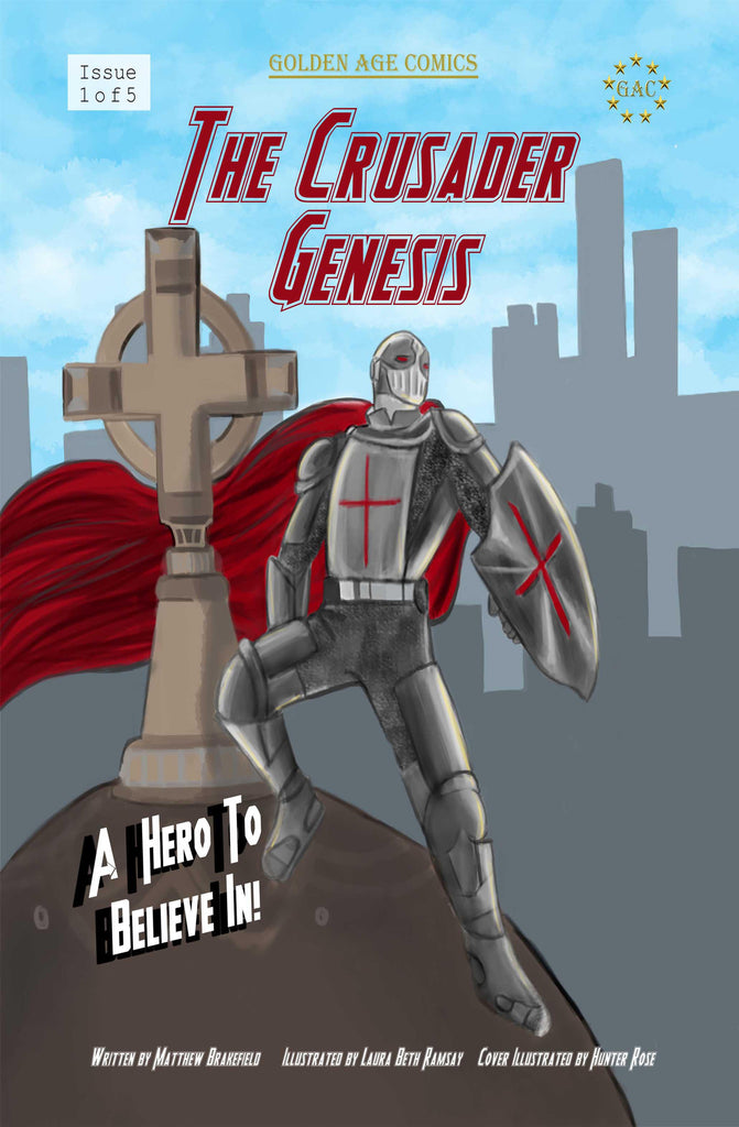 *The Crusader Genesis Vol. 1 (New Catholic Comic Book)*