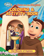 Brother Francis Coloring Book - Ep.05: Born into the Kingdom - ABCatholic