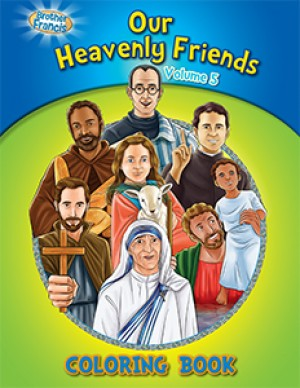 Coloring Book: Our Heavenly Friends vol.5 - ABCatholic