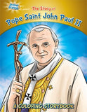 Coloring Book: Pope Saint John Paul II