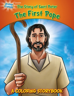 Coloring Book: Saint Peter The First Pope