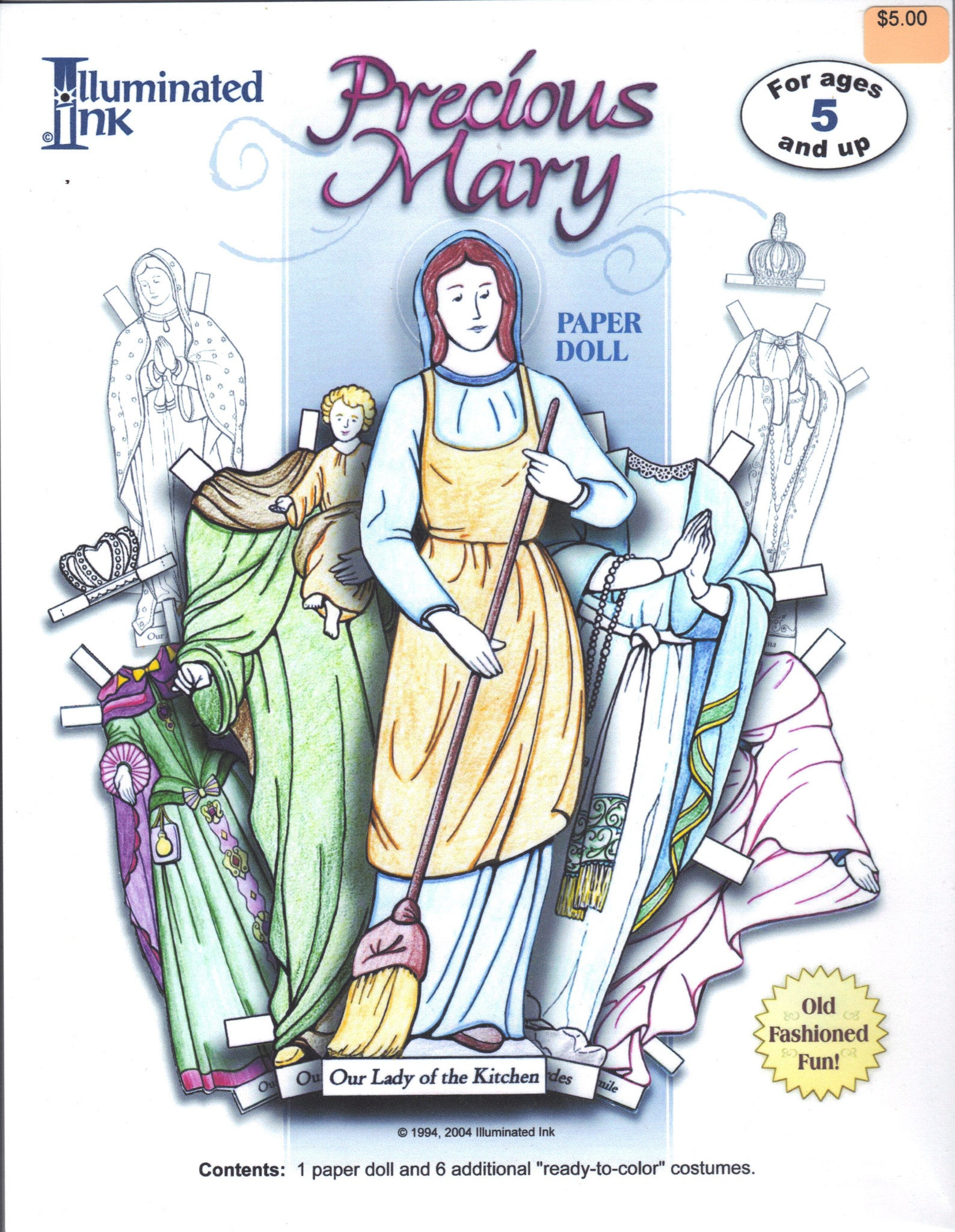 Precious Mary Paper Dolls - ABCatholic