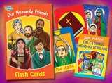 Our Heavenly Friends - Flash Cards - ABCatholic