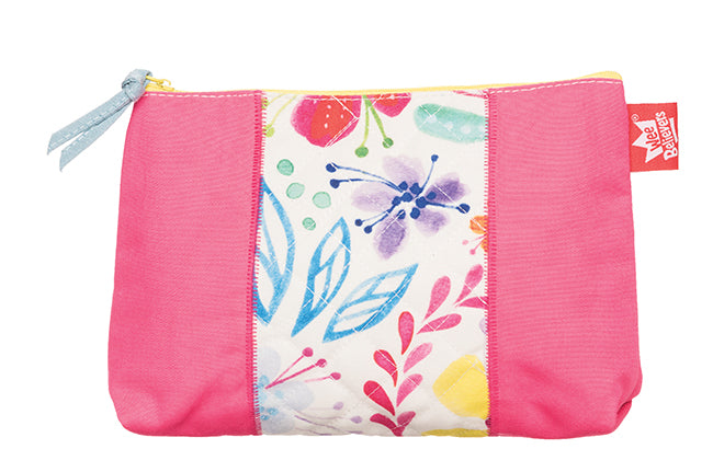 (Floral) Medium Accessory Case - ABCatholic