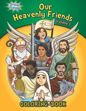 Coloring Book: Our Heavenly Friends vol.1