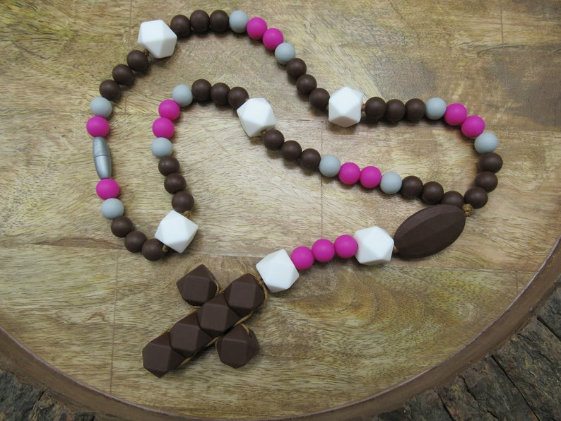 Chocolate (Teething Rosary)