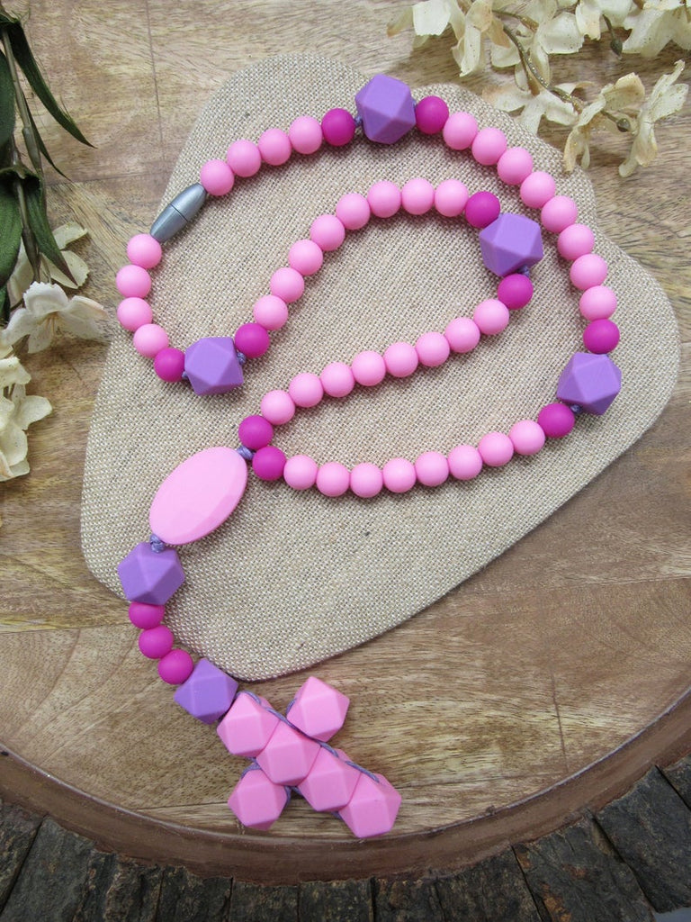 Pink (Teething Rosary)