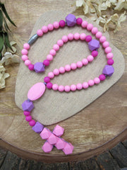 Pink (Teething Rosary) - ABCatholic