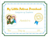 My Little Patron Preschool Practice Book - ABCatholic