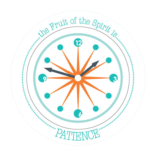 Fruit-Full Plate: Patience Plate - ABCatholic