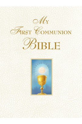 My First Communion Bible (White) - ABCatholic