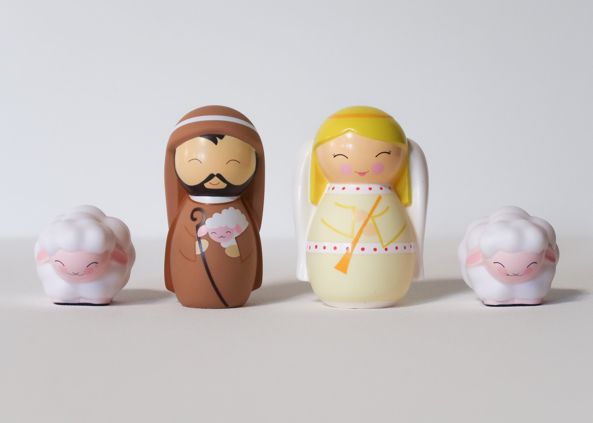 The Shepherd and Angel Nativity Playset