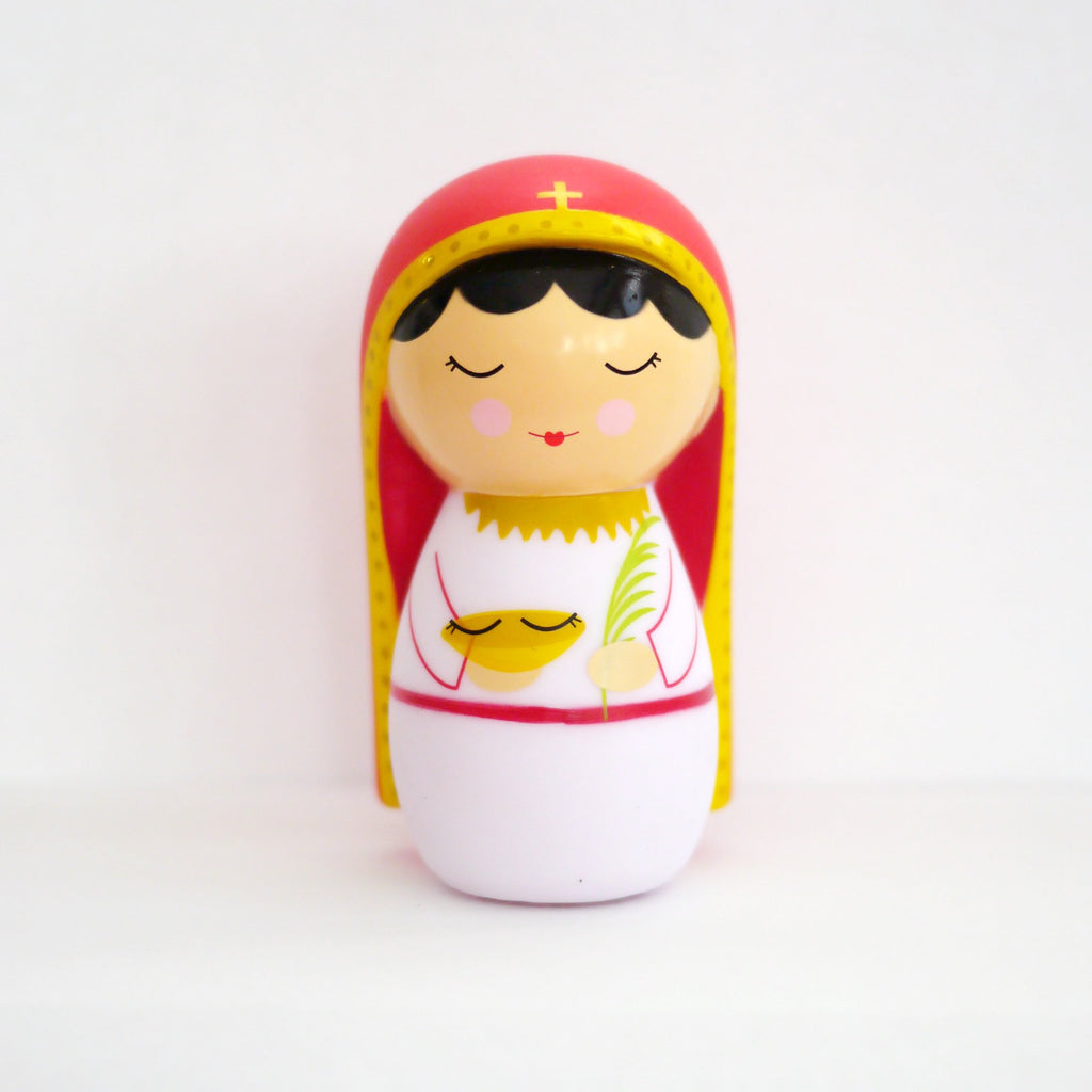 Saint Lucy Shining Light Doll