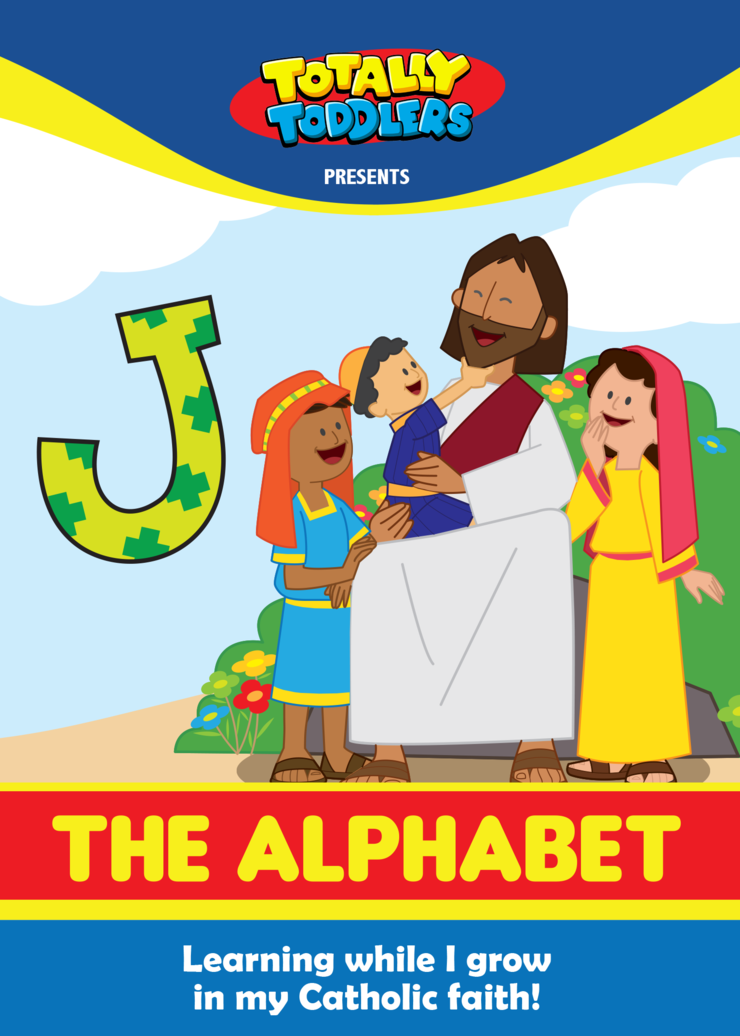 Totally Toddlers DVD: The Alphabet