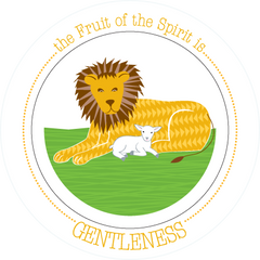 Fruit-Full Plate: Gentleness Plate - ABCatholic