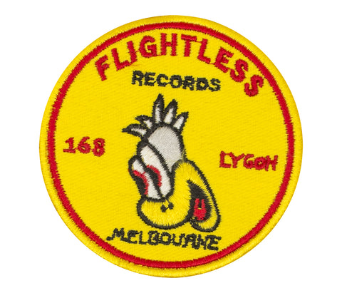 Flightless Records - 168 Patch