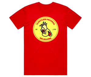Flightless Records - 168 Emu Head T-Shirt