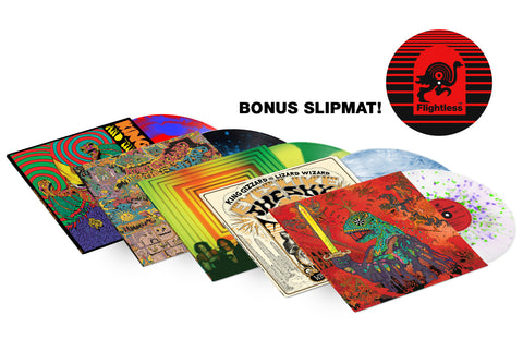 COMPLETE REISSUE BUNDLE with BONUS SLIPMAT