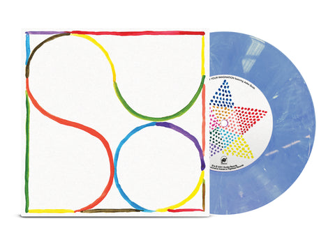 "Babe Rainbow - Your Imagination feat Jaden Smith 7"" (Limited Edition Smokey Blue Wax) PRE~ORDER"