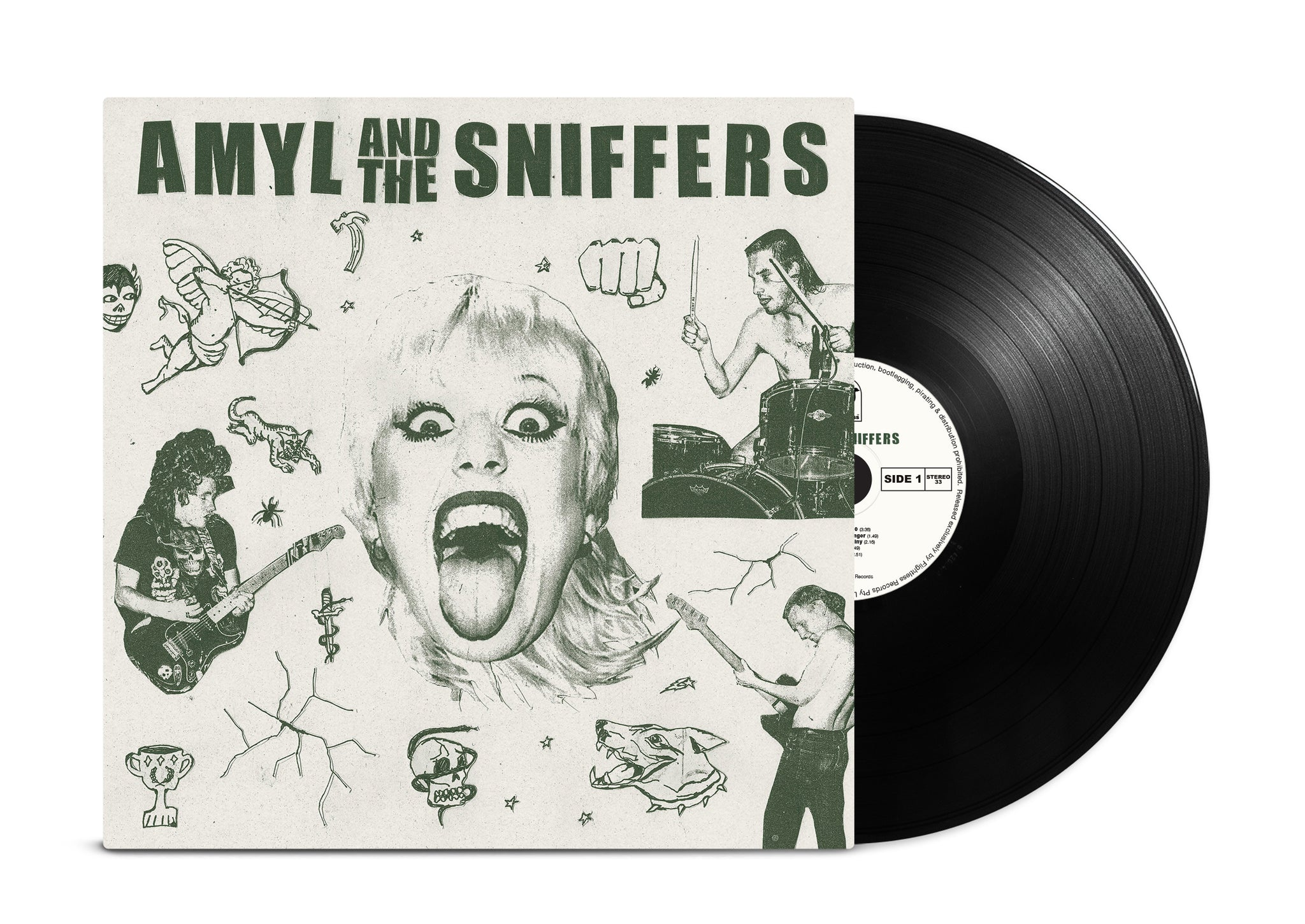 Amyl and The Sniffers - S/T (Classic Black Wax)