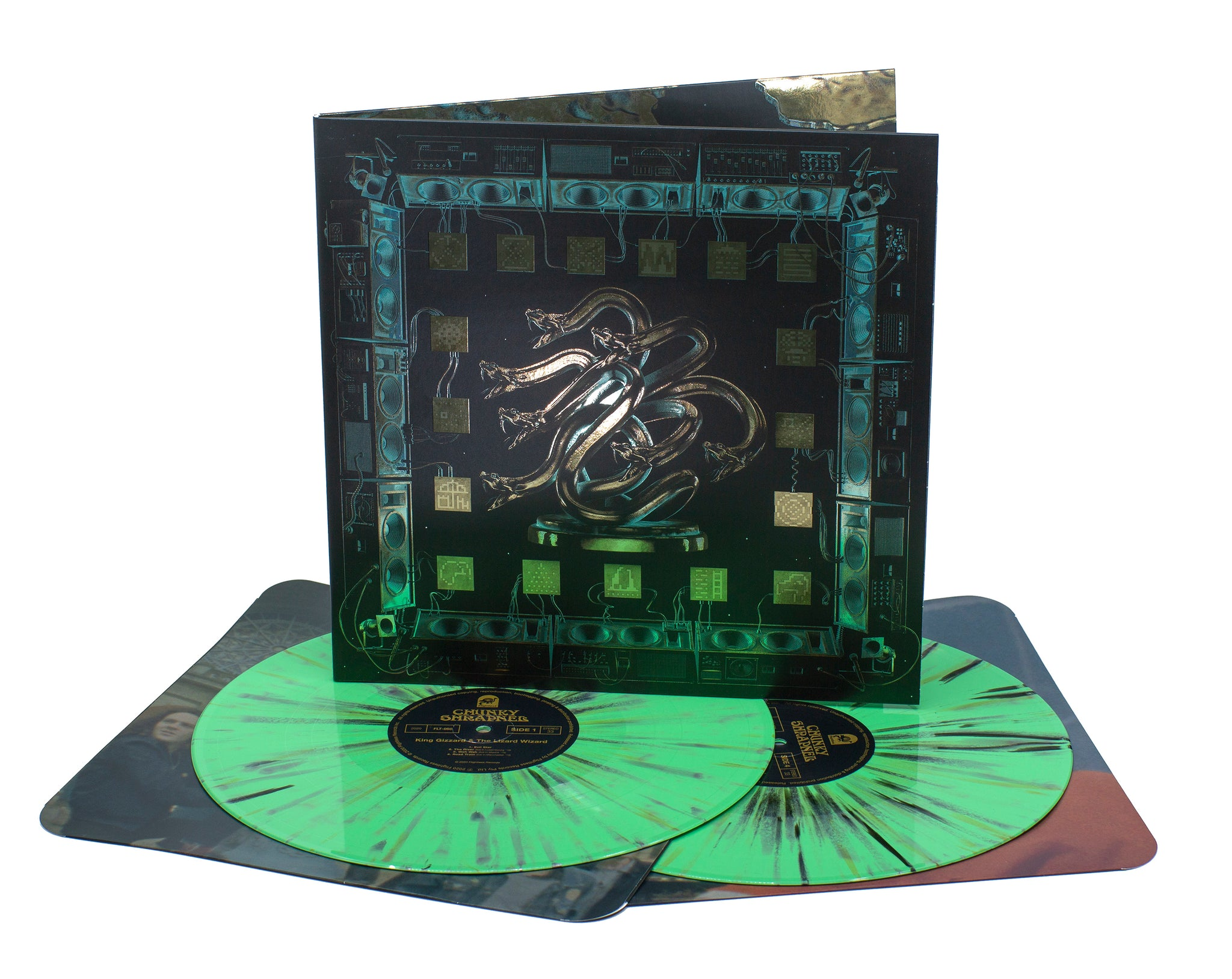 King Gizzard and The Lizard Wizard - Chunky Shrapnel (Acid Rain Limited Edition PRE~ORDER)