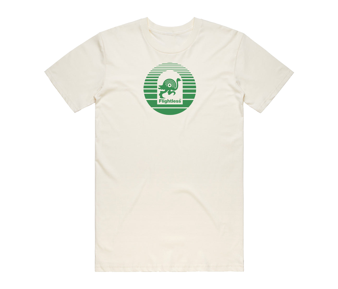 Flightless Records - Logo T-Shirt Peppermint Cream