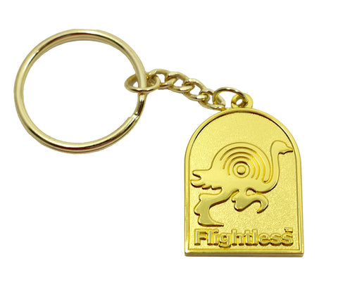 Flightless Keyring - Deluxe Gold Edition Keyring