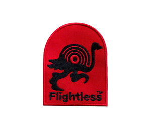 Flightless Records - Embroidered Patch